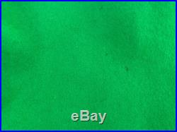 1950s Grace Kelly esq green felt poodle swing skirt collectors item Fantasies in Fabrics by Babette, Made in California