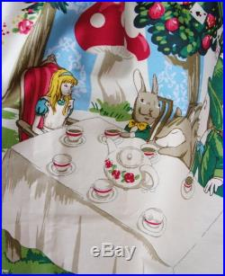 Alice in Wonderland Skirt, Mad Hatter's Tea Party, Cheshire Cat, Fairy tale Clothing size 8 12 EU size 38 42