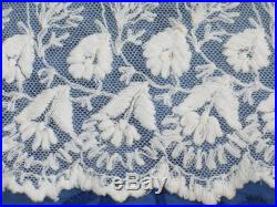 Antique Victorian Skirt c1800s Victorian Bustle Skirt Edwardian Skirt Embroidered Lace