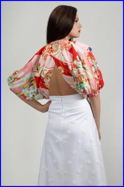 Bespoke for Patricia A Line Skirt, Daisy A Line Skirt 10 percent discount taken off.