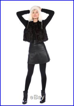 Black or Brown, Bronze, White, Beige Leather Mini Skirt, High Waised Leather Skirt Size UK 8-16, Mini Leather Skirt Any Colour Made To Order