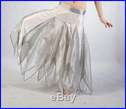 Bridal Faery Skirt XS size 0 Isis Ivory and silver