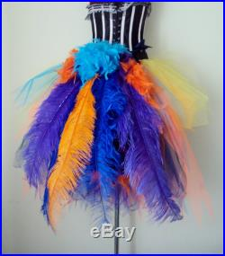 Burlesque Tutu Skirt Inspired by Kevin from UP stunning colours .