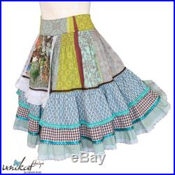 Dirndl tiered skirt. Costume rock Costume replacement