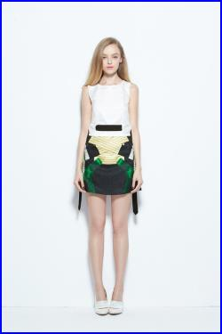 FABITORIA SS 2014 Layers and Bows X Skirt XX