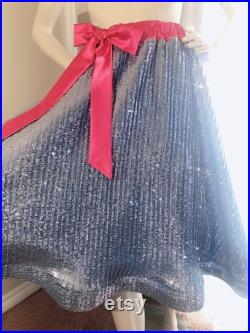Fairy Godmother Sequin Skirt and Cape