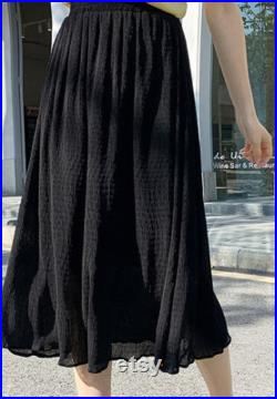 Fashioning and flowing skirt for summer