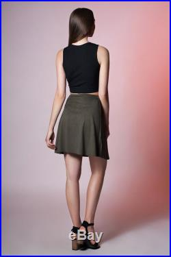 Faux Suede Skirt. 14 colors available.