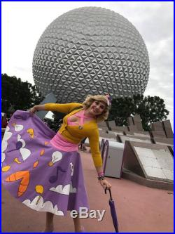 Figment-Inspired Poodle Skirt