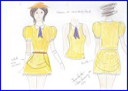 Jane Porter Inspired running outfit