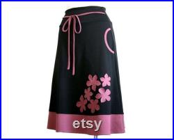 Jersey skirt with pockets Winter skirt Womens skirt Skirt with pockets Plus Size Skirt Plus Size Clothing High waisted plus size skirt