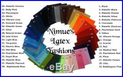 Latex Pencil Skirt, made-to-order in a variety of colors and sizes, by Nimue's Latex