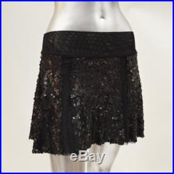 Matte Sequin Valerie Swing Skirt 4 COLORS AVAILABLE