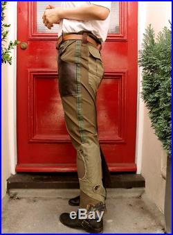 Military Look Long Skirt, Camouflage Patches with Military Garments - Size S M ,8-12