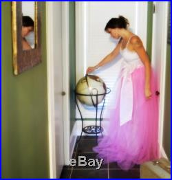 Miss Anya's Level 2 Adult floor length tulle petticoat Sash and full lining Weddings and Engagements