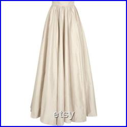 Miss Cordelia A Modern Gothic floor-length dupioni silk gorgeous gathered skirt ballskirt pockets at side seam with full lining