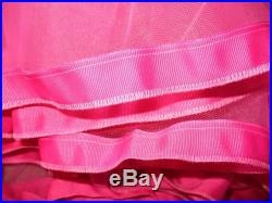 Miss Lucie's Level 2 Party Petticoat Medium Fullness petticoat with soft tulle and thick grosgrain ribbon trim