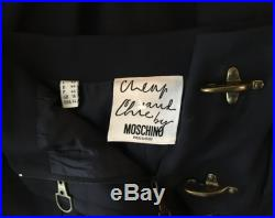 Moschino funny vintage skirt collectors item