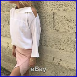 Pink Asymmetrical Mini Skirt, Sexy Pencil Skirt, Summer Occasion Skirts, Elegant Fashion Skirts, Business Clothes For Women
