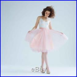 Powder tulle skirt long adult women skirt bridal party outfit bridesmaid dress ivory nude tutu beige black friday sale cyber week sale