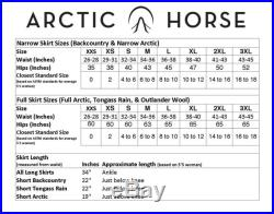 Rain Riding Skirt Waterproof Equestrian Outerwear Tongass Style Gifts for Horse Lovers Alternative to Rain Pants