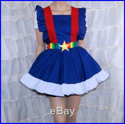 Rainbow Brite Cosplay Pinafore Apron Costume Skirt Adult ALL Sizes MTCoffinz