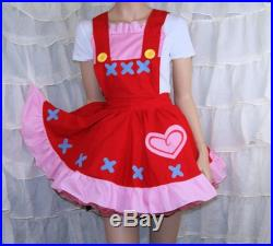 Reese Anime Cosplay Pinafore Apron Costume Skirt Adult ALL Sizes MTCoffinz