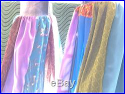 Reworked up-cycled patchwork Bohemian Vintage Gypsy new jeans with tags on colorful