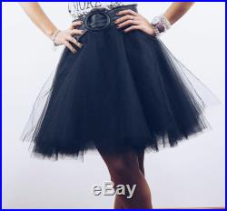 Rock Couture flared skirt in tulle For Alternative Women, skirt in tulle, flared skirt, tulle skirt