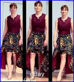 Skirt lined wax size 40 42. Skirt lined with wax size 10 12