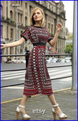 Stylish, elegant and noble and brilliant brocade skirt, creating a unique style