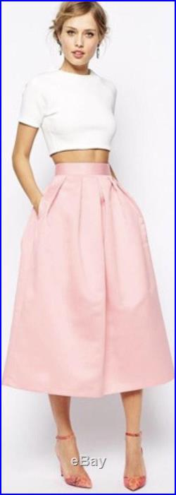 Tea length pocket maxi skirt, casual, special occasion, all sizes, made to order