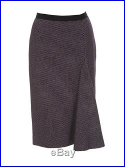 The Honorable Venetia Kerr's Country Manor Skirt flannel pencil skirt with front godet