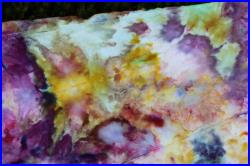 Tie dye Skirt Up Cycled Multi colored Size 14 colorful skirt