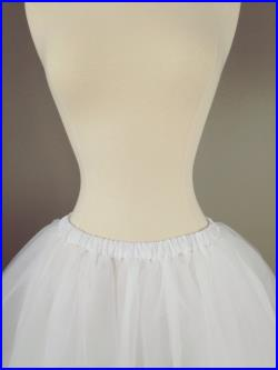 22add0fbeb Tulle skirt Adult Bachelorette Tutu- black, white or ivory any length