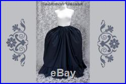 Underskirt for Rococo gowns, baroque, Petticoat, custom colour and size