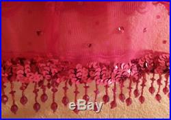 Very Sexy Bohemian Style Sarong Style Beaded Sequined Wrap Mini Skirt