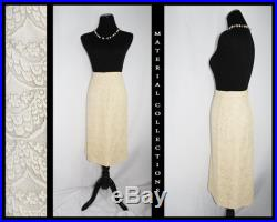 Vintage 1950s Custom Floral Lace Skirt Material Collections