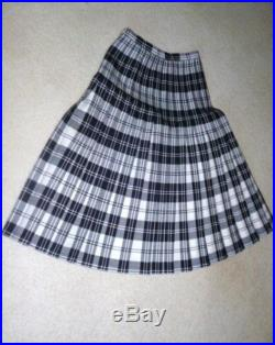 Vintage Double Pleat Skirt from Slimma -England, circa 1975