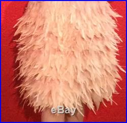 Vintage Feather Skirt 1020s Style Dolly Sisters Costume High Fashion