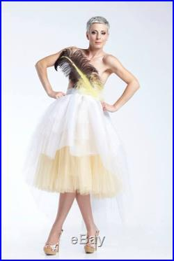 White Tulle Skirt, Bridesmaid Separates, Ombre Tutu Skirt, Wedding Gown Skirt, Party Skirt, Wedding Tutu Skirt, Prom Skirt, Wedding Apparel