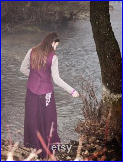 Witches in Nature Cashmere Woolen Skirt Bohemian Elven Long skirt