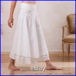 Women Skirt, Long Skirt, Cotton Skirt, Bohemian Skirt, Maxi Skirt, Boho Skirt, Bohemian Clothing, Hippie Skirt, A-line Skirt, White Skirt