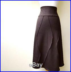 a line womens skirt merino wool or bamboo knit made to order