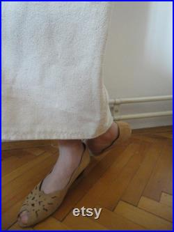 light or heavy raw silk SKIRT with elastic waist, pockets or without, made from heavy or light rough raw wild silk in creme beige