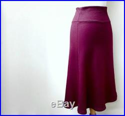 long tulip skirt flare wool or bamboo maxi skirt made to order womens clothing